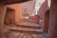 Ait Benhaddou street Stock Photos