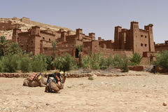 Ait Benhaddou. A traditional Moroccan ksar Stock Photo