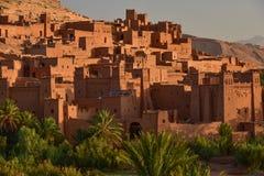 Ait Benhaddou, um local do patrimônio mundial do UNESCO em Marrocos Fotografia de Stock Royalty Free