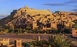 Ait Benhaddou World Heritage Site em Marrocos Fotografia de Stock