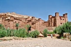 ait-benhaddoufort morocco Arkivfoto