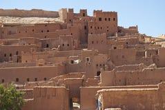 ait-benhaddoukasbah morocco Royaltyfri Fotografi