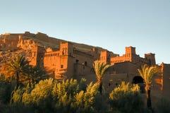 Ait Benhouddou kashba, Μαρόκο Στοκ Φωτογραφίες