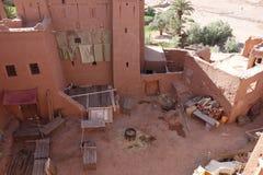 Город Ait Бен Haddou в Марокко Стоковое Изображение