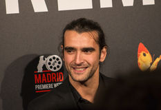 Aitor Luna at Madrid Premiere Week cinema event in Callao Square, Madrid Royalty Free Stock Photo