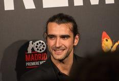 Aitor Luna no evento do cinema da semana da premier do Madri no quadrado de Callao, Madri Foto de Stock Royalty Free