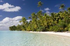 aitutaki kucbarska wysp laguna Obrazy Stock