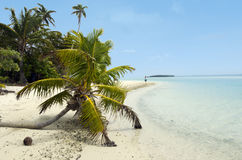 Aitutaki Lagoon Cook Islands Royalty Free Stock Photo