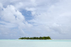 Aitutaki Lagoon Cook Islands Royalty Free Stock Images