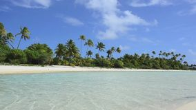 Aitutaki Lagoon Cook Islands Stock Photography