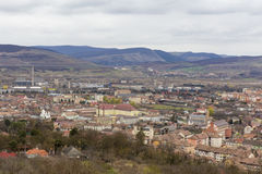 Aiud miasta widok Obraz Royalty Free