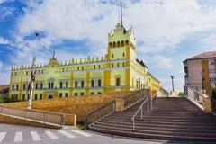 Aiud teknisk högskola i Alba County Rumänien Arkivbild