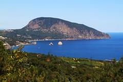 Aiudag (Urso-montanha) em Crimeia Fotos de Stock Royalty Free