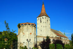 aiudcitadel transylvania Arkivfoto