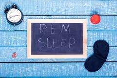 Aiuti di sonno e di sonno fotografia stock libera da diritti