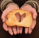 Aiuti l'affamato Fotografie Stock Libere da Diritti