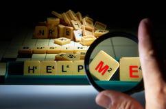 Aiutilo Fotografia Stock Libera da Diritti