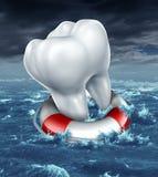 Aiuto dentario illustrazione vettoriale