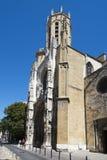 Aix大教堂,法国 免版税图库摄影