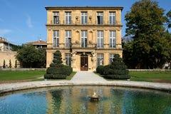 AIX-en-Провансаль, Франция - 18-ое октября 2017: вид спереди p стоковые фото