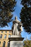 AIX-en-Провансаль, Франция - 19-ое октября 2017: известная статуя o стоковое изображение