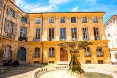 aix en fontanna Provence Zdjęcie Stock