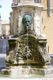 Aix-en-Provence. Fountain in Aix-en-Provence, Provence, France Royalty Free Stock Images
