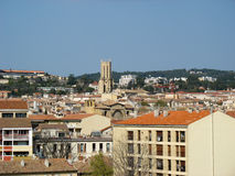 Aix en Provence Obraz Royalty Free