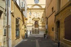Aix en Provence Fotografering för Bildbyråer