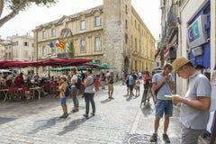 Aix en Provence Royalty-vrije Stock Afbeelding