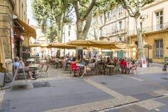 Aix en Provence Royaltyfria Foton