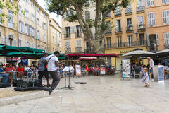 Aix en Provence Arkivbild