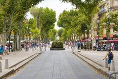 Aix en Provence Arkivfoto