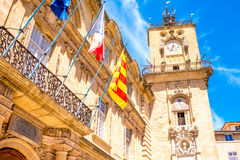 Aix-en-Provence city in France Royalty Free Stock Photos