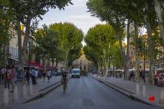 Aix-en-Provence, França Imagem de Stock Royalty Free