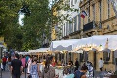 Aix-en-Provence, França Foto de Stock Royalty Free