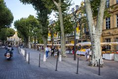 Aix-en-Provence, França Imagens de Stock