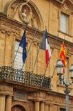 Aix en Provence, França - 21 de abril de 2016: câmara municipal Foto de Stock
