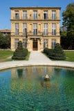 Aix-en-Provence, França - 18 de outubro de 2017: ideia dianteira do P fotografia de stock