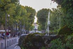 Aix-en-provence Frankrike Arkivfoton