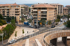 Aix en Provence the new part Royalty Free Stock Image