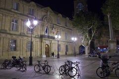 Aix-en-Provence - platzieren Sie de L'Hôtel de Ville Stockfotografie