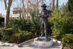 Aix-en-Provence Statue of Paul Cezanne Stock Images