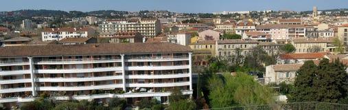 Aix-en-provence. View of aix en provence town Stock Photography