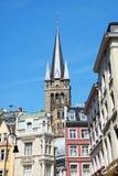 Aix-la-Chapelle da baixa em Alemanha Fotos de Stock Royalty Free