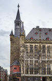 Aix-la-Chapelle Rathaus (câmara municipal), Alemanha Fotografia de Stock Royalty Free
