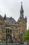 Aix-la-Chapelle Rathaus (câmara municipal), Alemanha Fotos de Stock