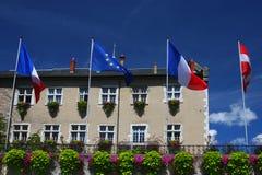 Aix-Les-Bains City Hall Stock Photo