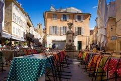 Aix Provence square Stock Photo