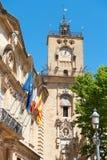 aix zegarowy en Provence wierza Zdjęcie Royalty Free